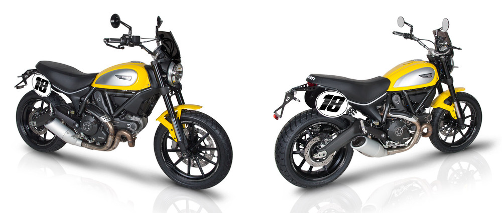 ducati scrambler accessoires moto. Black Bedroom Furniture Sets. Home Design Ideas