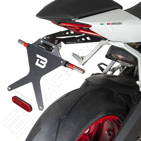support de plaque ducati 899 panigale accessoires moto. Black Bedroom Furniture Sets. Home Design Ideas