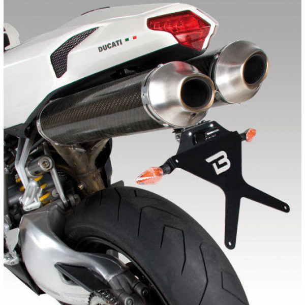 SUPPORT DE PLAQUE INCLINABLE  DUCATI 848/1098/1198