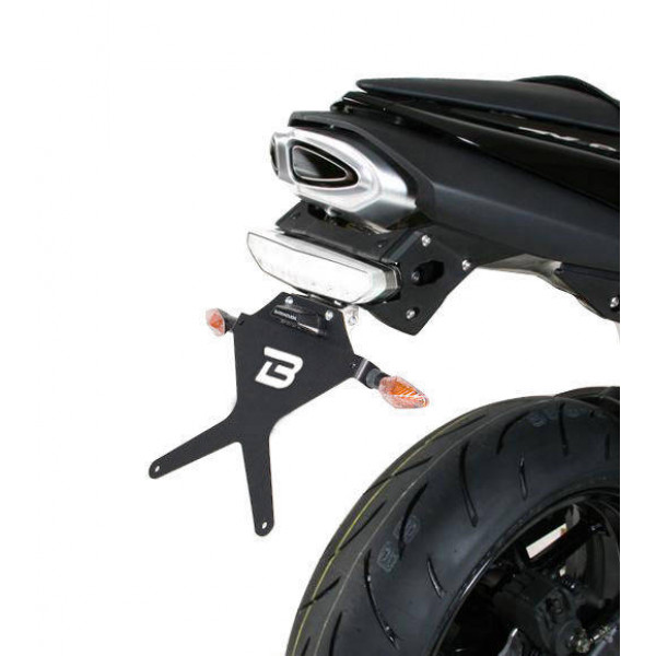 SUPPORT DE PLAQUE KAWASAKI 636 07-08