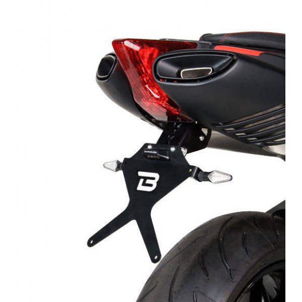 SUPPORT DE PLAQUE APRILIA DORSODURO