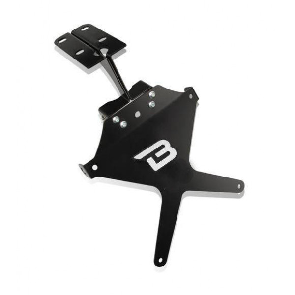 SUPPORT DE PLAQUE INCLINABLE YAMAHA R1 04-06