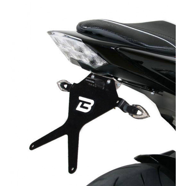 SUPPORT DE PLAQUE KAWASAKI Z1000 07-09