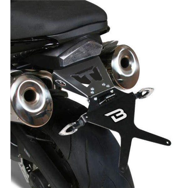 SUPPORT DE PLAQUE TRIUMPH SPEED TRIPLE 05-07