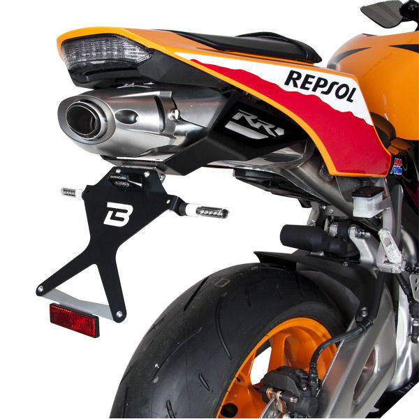 SUPPORT DE PLAQUE INCLINABLE HONDA CBR 600 2013