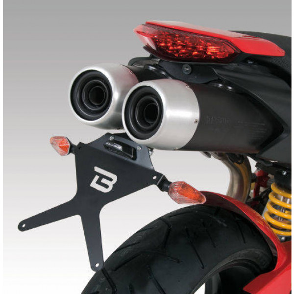 SUPPORT DE PLAQUE HYPERMOTARD