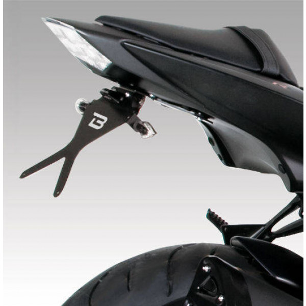 SUPPORT DE PLAQUE INCLINABLE KAWASAKI Z750R 2011