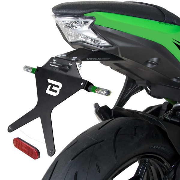 SUPPORT DE PLAQUE NINJA 650