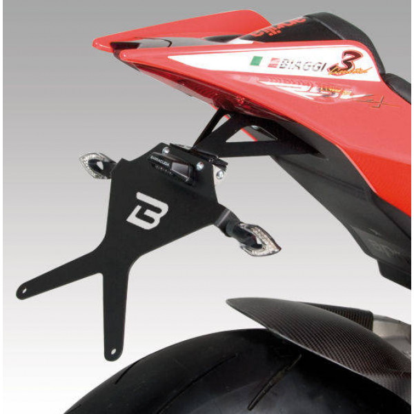 SUPPORT DE PLAQUE APRILIA RSV4