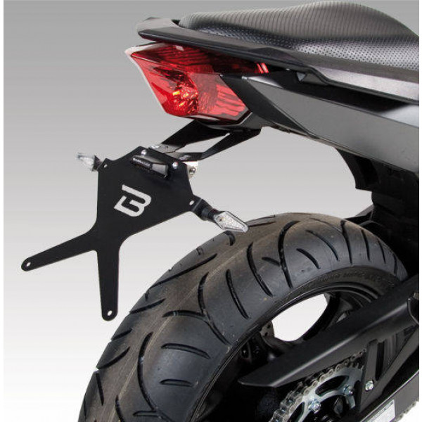 SUPPORT DE PLAQUE INCLINABLE YAMAHA XJ 6