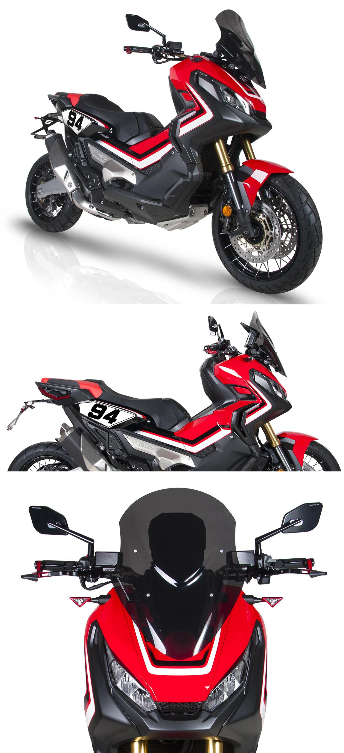 honda x adv 2017 accessoires moto. Black Bedroom Furniture Sets. Home Design Ideas