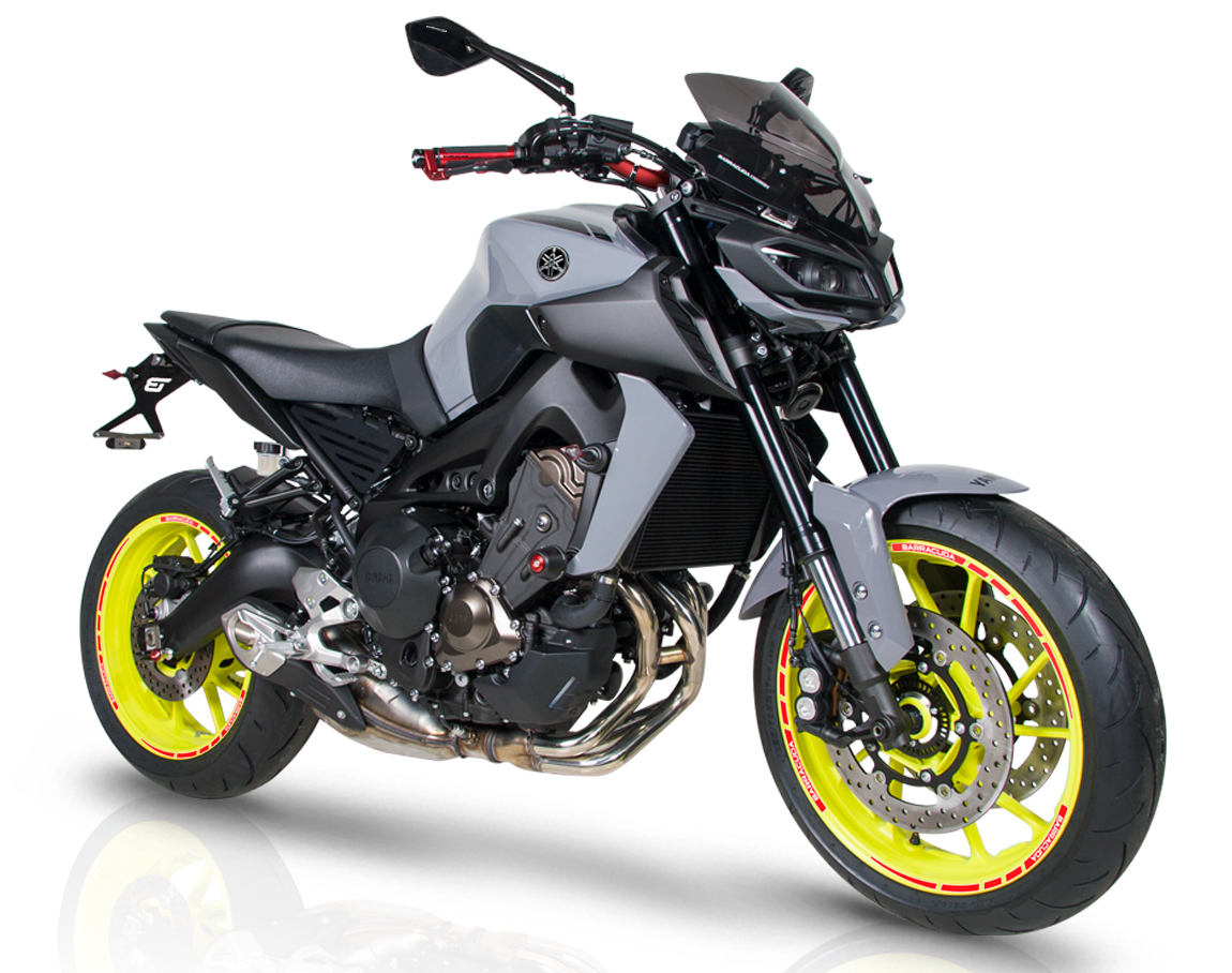 barracuda special kit yamaha mt 09 accessoires moto. Black Bedroom Furniture Sets. Home Design Ideas